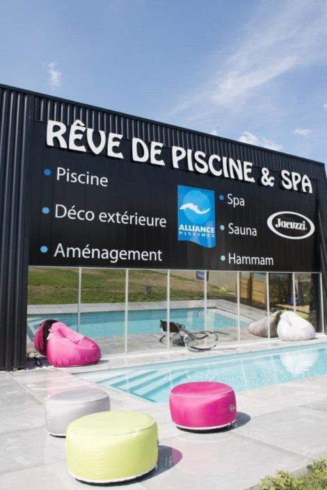 Showroom à Carquefou - Rêve de Piscine & Spa Nantes Carquefou La Baule (44)