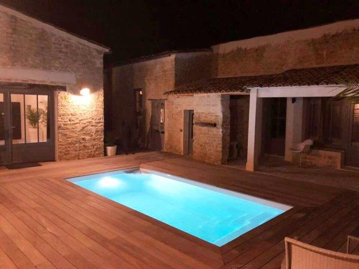 Aménagement de piscine coque Starlite à La Baule - Rêve de Piscine & Spa à Nantes Carquefou La Baule Loire Atlantique (44)