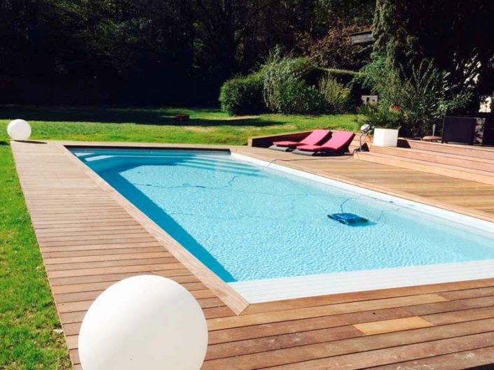 Piscine en coque polyester Alliance Piscines à Bouguenais - Rêve de Piscine & Spa Carquefou La Baule Loire Atlantique (44)