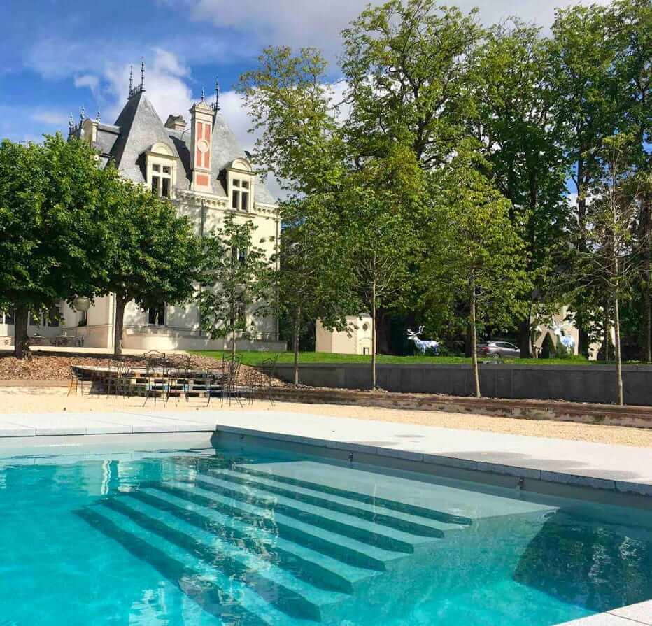 Espace Spa Jacuzzi Au Chateau De Maubreuil Reve De Piscine Et Spa