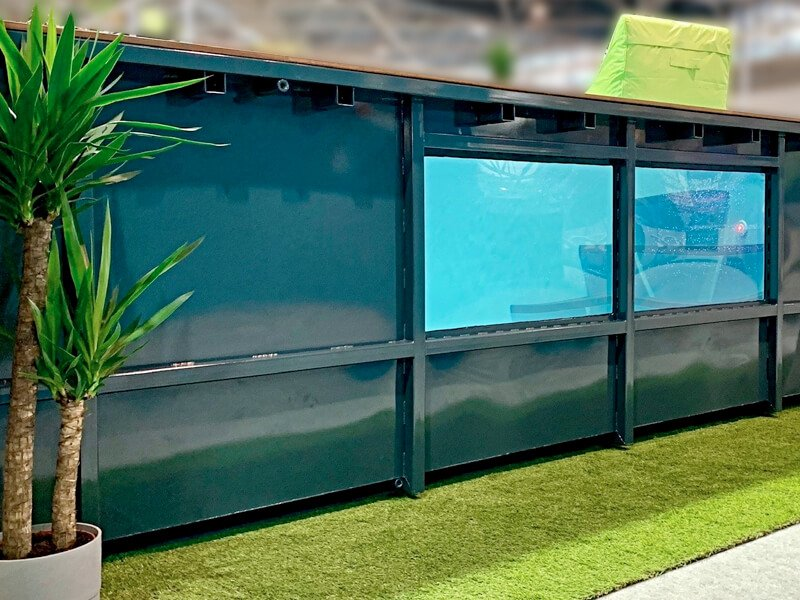 Piscine aquarium en métal Le Bassin Français à Nantes - Rêve de Piscine & Spa à Nantes Carquefou La Baule Loire Atlantique (44)